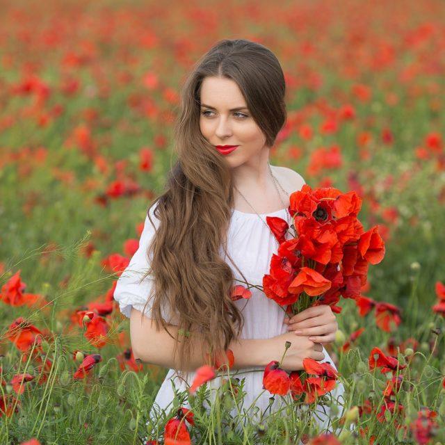 фотосессии на маковых полях в Крыму, фотограф Крым, фотограф Ялта